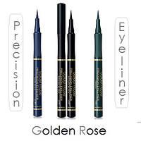 Подводка-фломастер для глаз водостойкая Golden Rose Precision Eyeliner