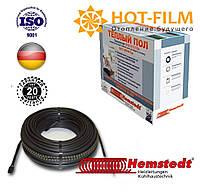 Теплый пол Электрический нагревательный кабель Двухжильный Hemstedt Германия 24,8м(2,5-2,9м²)400 Вт