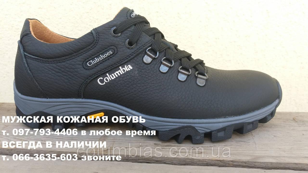 Кожаная обувь мужская Calumbia
