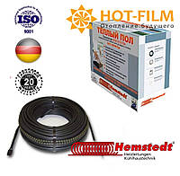 Греющий кабель Двухжильный Hemstedt 72,7 м. ( 7,3 - 9,2   м² ) 1250 Вт, фото 1