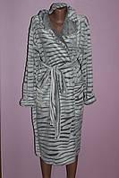 Женский теплый халат Шиншила, фото 1