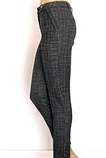 жіночі класичні штани в клітинку , фото 3