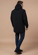 Braggart 'Black Diamond' 9028 | Куртка мужская зимняя черная, фото 3