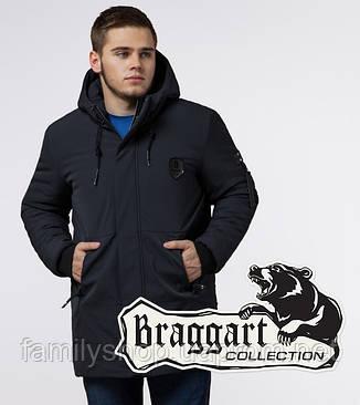 Braggart 'Black Diamond' 9028 | Зимняя куртка классическая графит, фото 2