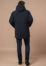 Braggart 'Black Diamond' 9028 | Зимняя куртка классическая графит, фото 3