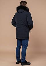 Braggart 'Black Diamond' 9828 | Зимняя мужская куртка графит, фото 3