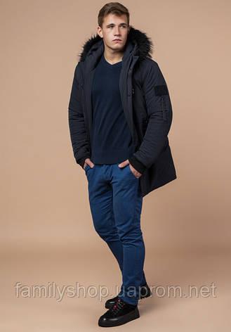 Braggart 'Black Diamond' 9842 | Куртка зимняя мужская графит, фото 2