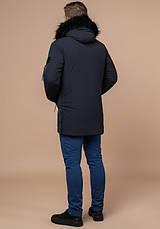 Braggart 'Black Diamond' 9842 | Куртка зимняя мужская графит, фото 3