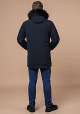 Braggart 'Black Diamond' 9985 | Мужская зимняя куртка т-синяя, фото 3