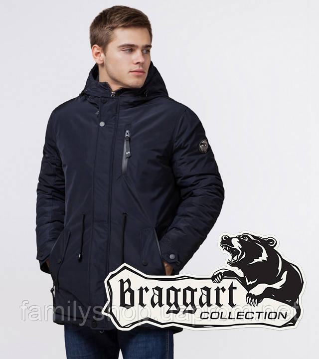 Braggart 'Black Diamond' 49720 | Парка мужская т-синяя