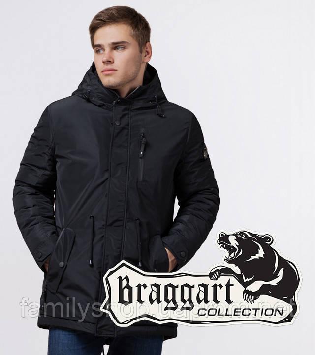 Braggart 'Black Diamond' 49720 | Парка мужская зимняя черная