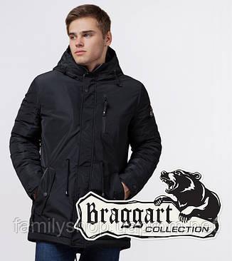 Braggart 'Black Diamond' 49720 | Парка мужская зимняя черная, фото 2