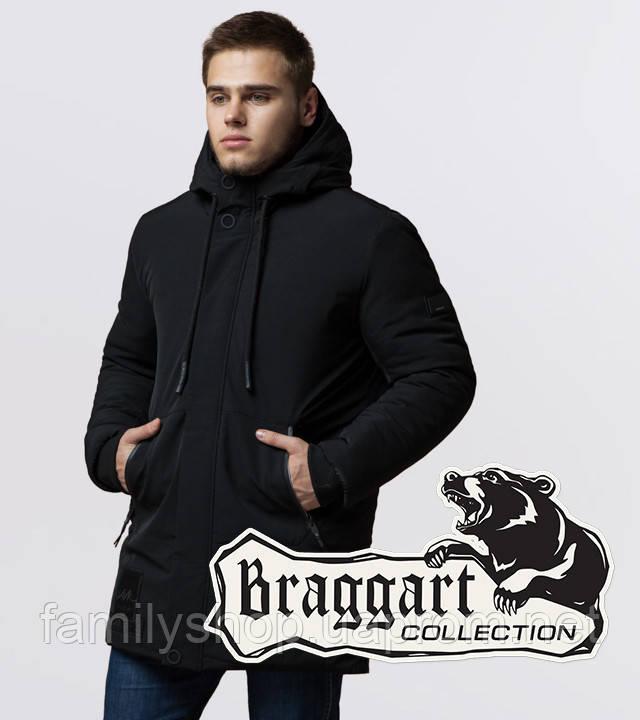 Braggart 'Black Diamond' 9085 | Парка зимняя черная
