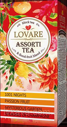 Чай черный Assorti  Lovare , 24 пак, фото 2