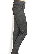 жіночі класичні штани в клітинку , фото 2
