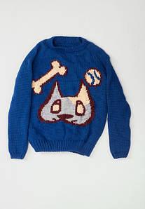 Вязаные свитера для мальчиков