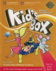 Kid's Box Updated 2nd Edition Starter Class Book with CD-ROM British English
