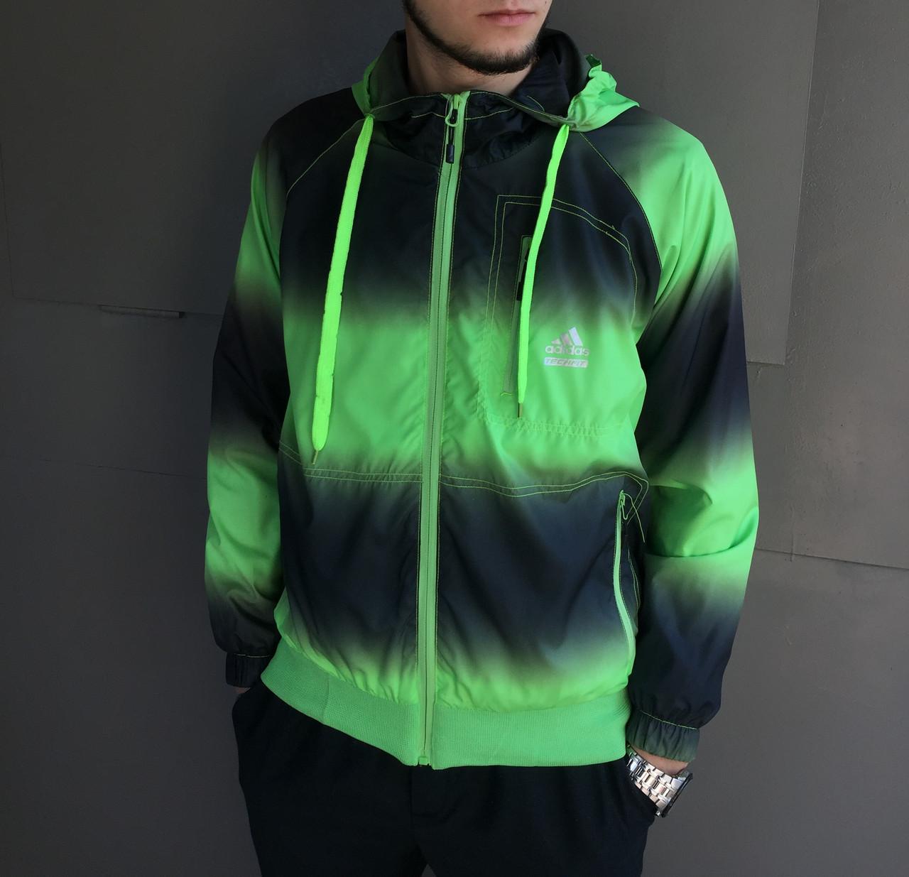 Ветровка мужская Adidas. Плащевка