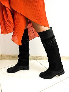 Модные осенние сапоги H&G 19