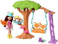 Игровой набор Фелисити фокс и Флик Энчантималс Enchantimals Felicity Fox and Flick Playground Adventures, фото 1