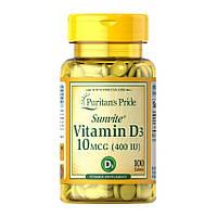 Puritan's Prideвитамин Д Vitamin D3 400 IU100 tablets