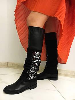 Модные осенние сапоги  HG20