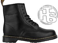 Женские ботинки Dr Martens Fur Lined 1460 Serena Black (с мехом) 23cb001ab6a30