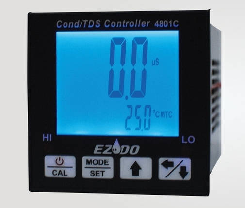 Контроллер электропроводности/солесодержания EZODO 4801C, фото 2