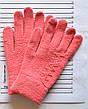Детские шерстяные перчатки для девочки - длина 17 см, фото 5