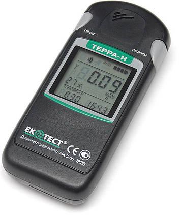 "Дозиметр-радиометр МКС-05 ""ТЕРРА"" с Bluetooth каналом, фото 2"
