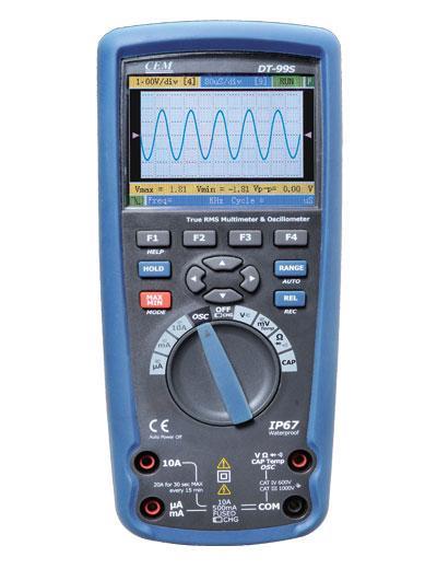 Цифровой прецизионный мультиметр-осциллограф CEM DT-9989