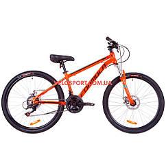 """Горный велосипед Formula Thor 1.0 DD 26 дюймов 18"""" оранжево-черный"""