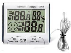 Термогигрометр Walcom DC-103 с выносным датчиком температуры