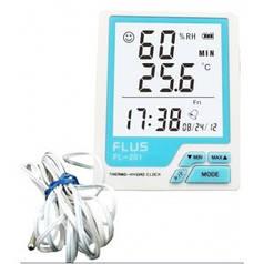 Термогигрометр бытовой (с уличным датчиком) Flus FL-201W