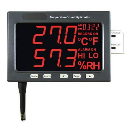 Настенный термогигрометр EZODO HT-360 (монитор), фото 2