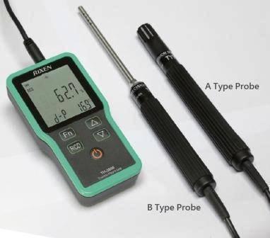 Термогигрометр-логгер с подключением до ПК RIXEN TH-3800 kit, фото 2