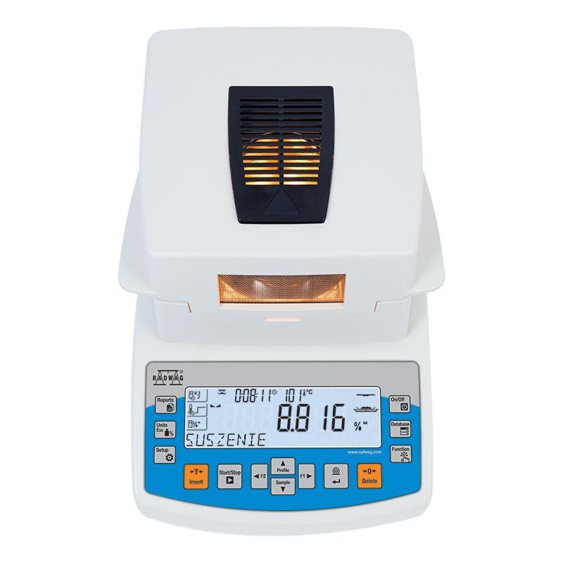 Анализатор влажности RADWAG МА 110.R