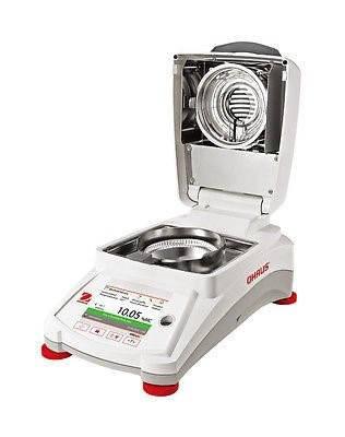 Анализатор влажности лабораторный (галогенный) OHAUS MB120, фото 2