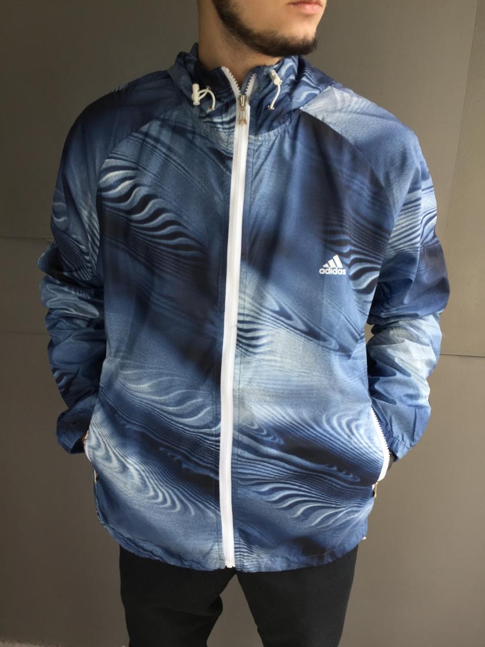 Ветровка мужская Adidas.Плащевка