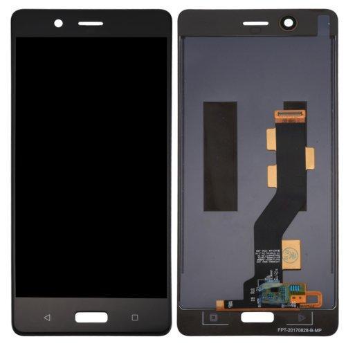 Nokia 8 дисплей в зборі з тачскріном модуль чорний