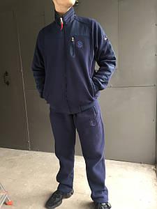 Мужской спортивный костюм Bogner (т.син,0) (зима)