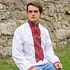 Мужская рубашка-вышиванка | Чоловіча сорочка-вишиванка