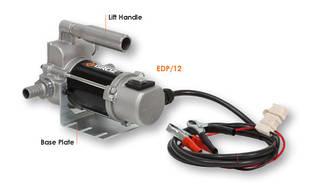Groz EDP/12 насос для дизельного топлива электрический 12В