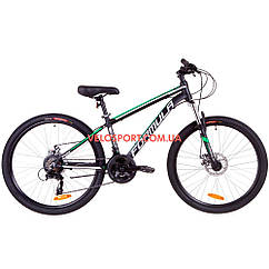"""Горный велосипед Formula Thor 2.0 DD 26 дюймов 14"""" черно-зеленый"""