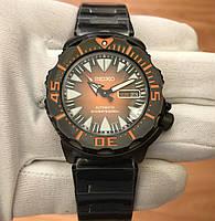 Seiko Black & Orange Monster-SRP311K1, фото 1