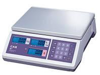 Весы торговые электронные CAS ER JR CBU без стойки