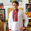 Мужская сорочка машинная вишивка | Чоловіча сорочка машинна вишивка