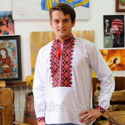 Мужская сорочка машинная вишивка | Чоловіча сорочка машинна вишивка, фото 2