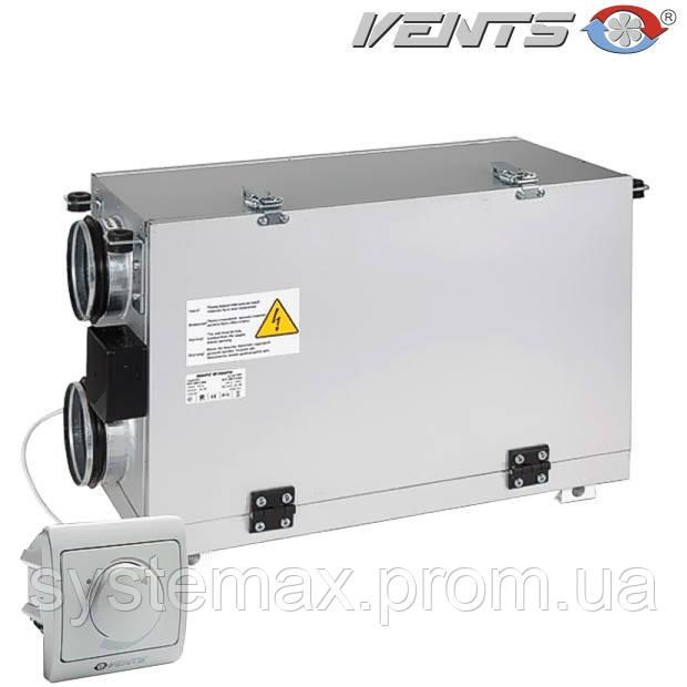 ВЕНТС ВУТ 300 Г мини ЕС: приточно-вытяжная установка (горизонтальная, ЕС-мотор)
