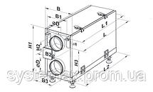 ВЕНТС ВУТ 300 Г мини ЕС: приточно-вытяжная установка (горизонтальная, ЕС-мотор), фото 3